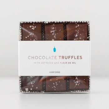 Innovation of format, stock selection, dielines, and bindery for wrap-around label in chocolate box packaging