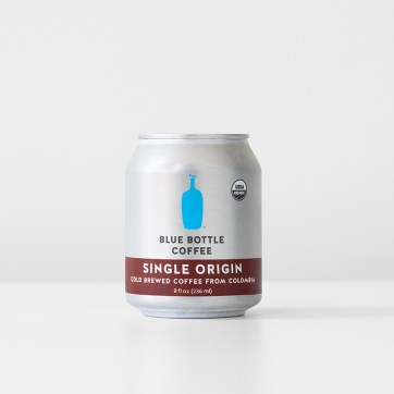 Single Origin cold brew can design and mechanicals and color proofing