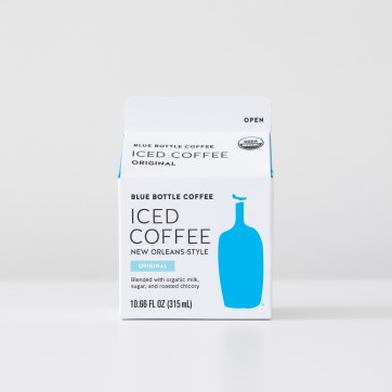 Original New Orleans-Style Iced Coffee carton production files