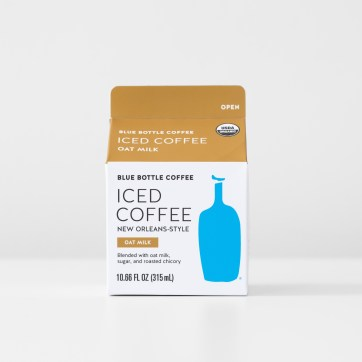 Oat Milk New Orleans-Style Iced Coffee carton production files
