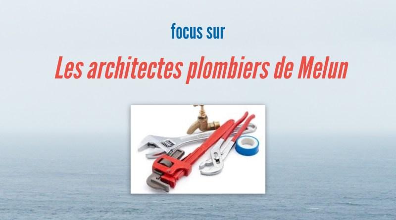 Architectes Plombiers Melun