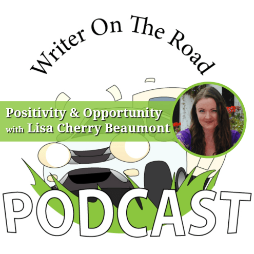 Writer on the road podcast interview Lisa Cherry Beaumont