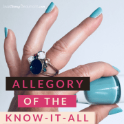 allegory of the know-it-all