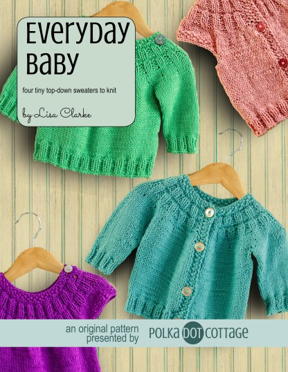 Everyday Baby Sweater Knitting Patterns