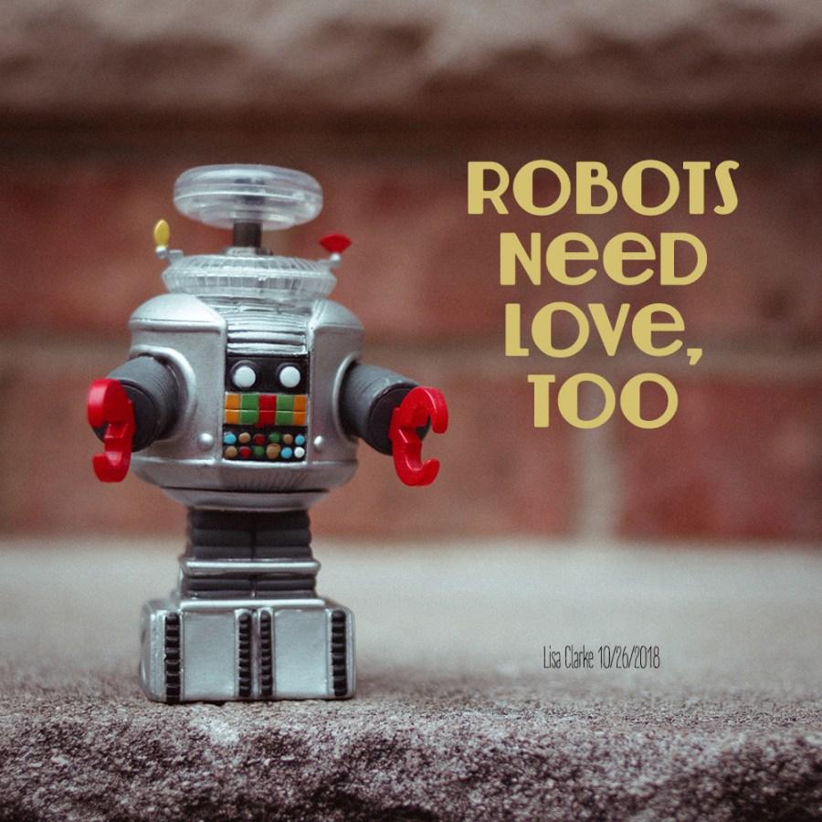 Robots Need Love, Too: a Polka Dot Radio playlist by Lisa Clarke