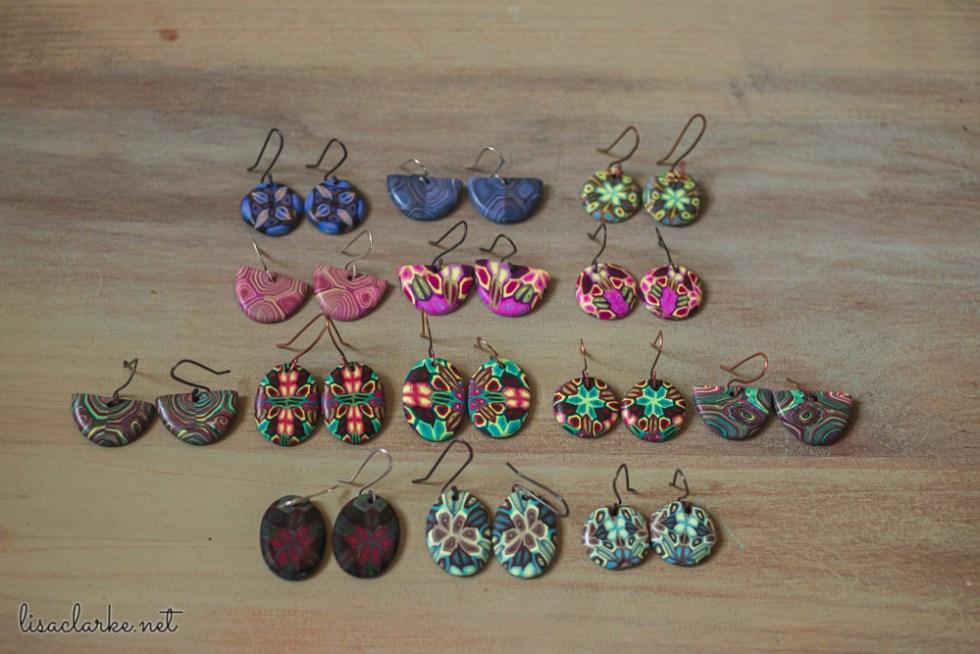 Clayathon 2020: Earrings