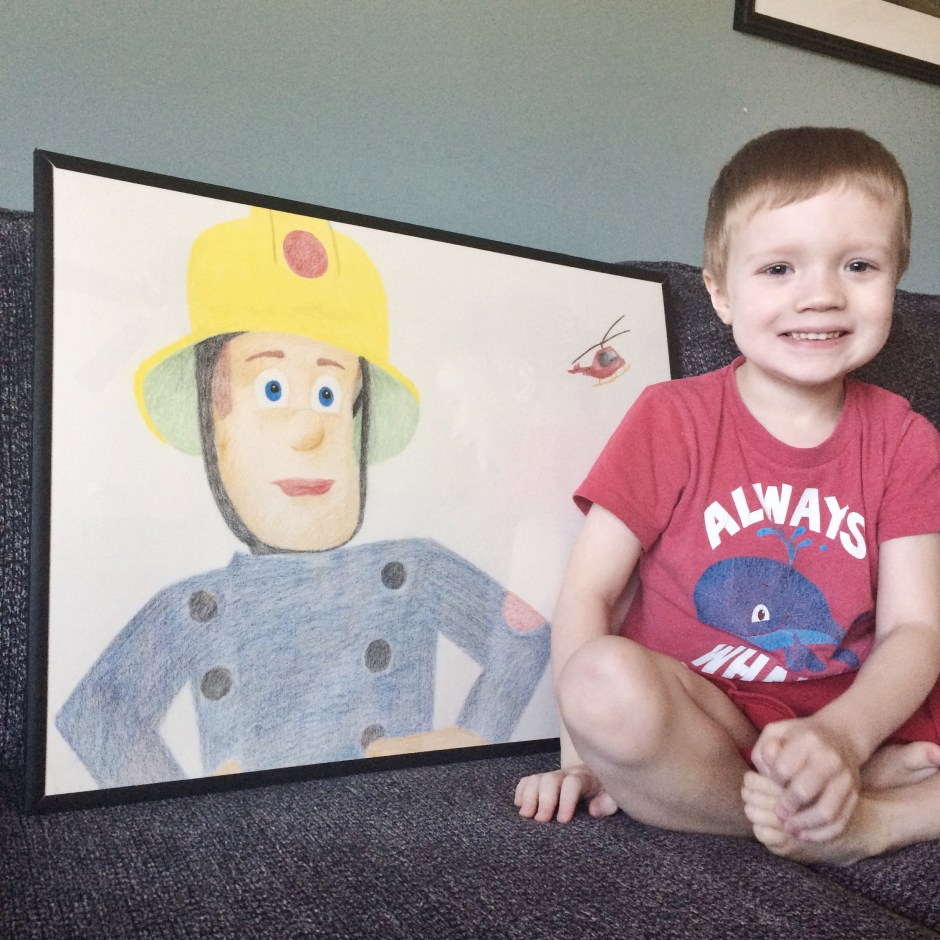 Kevin and Fireman Sam