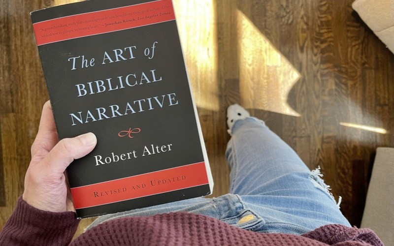 Reading The Art of Biblical Narrative: how story shapes Scripture