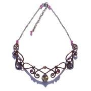 Fairy Necklace Medieval Renaissance Bronze