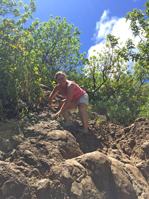 Walking the rocky path – lessons from hiking in Kauai, Hawaii