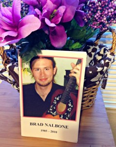Memorial brochure for Brad Nalbone