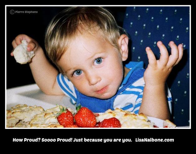 You Must Be So Proud at LisaNalbone.com
