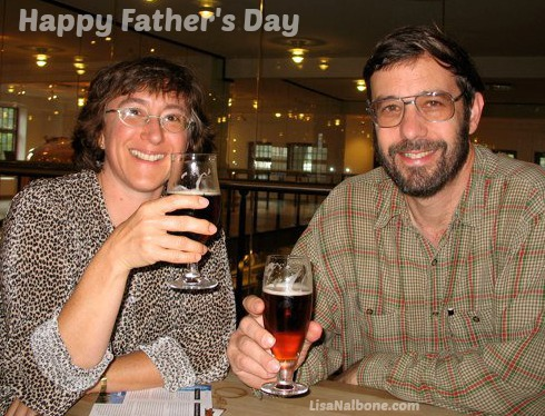 Happy Father's Day toast, Ode to an Unsung Hero at LisaNalbone.com