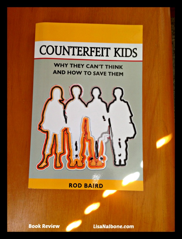 Book Review of Counterfeit Kids by Rod Baird at LisaNalbone.com