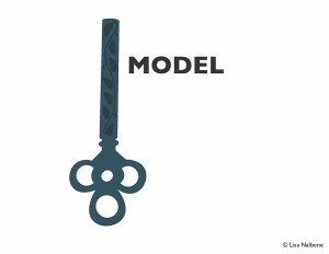 What's the key to trust? Model. www.lisanalbone.com
