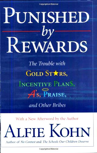 front cover of Punished by Rewards, book review at LisaNalbone.com