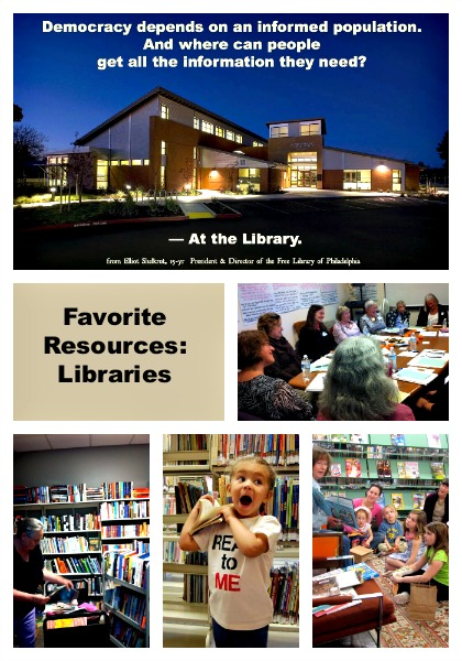 Favorite Resource Series:Libraries at LisaNalbone.com