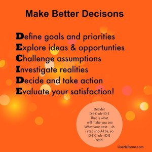 Do You Struggle with Decisions? Learn how to make better decisions.