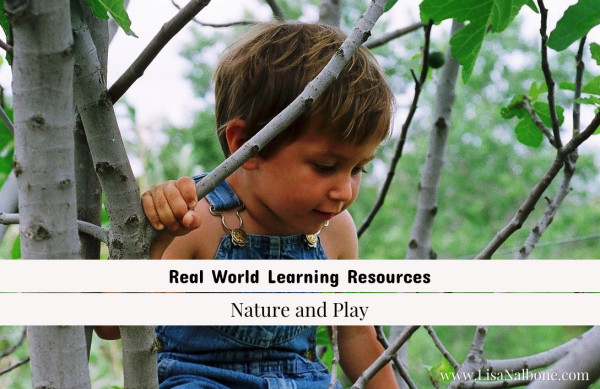Nature is a learning resource at www.LisaNalbone.com