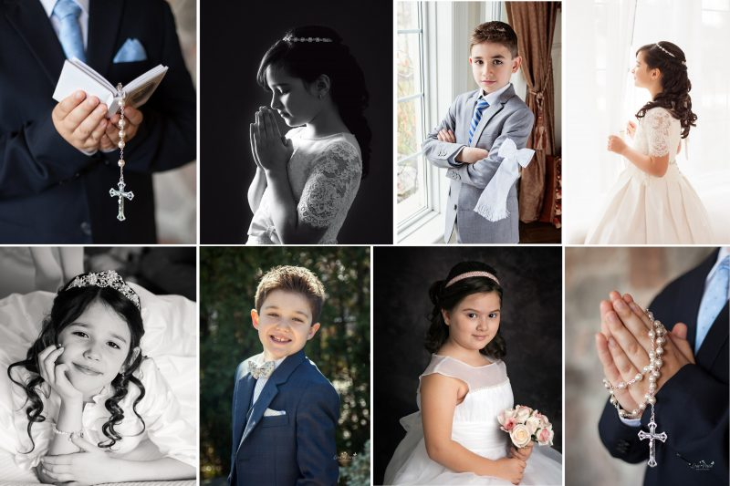 First Communion Photography | Woodbridge First Communion Photo Sessions