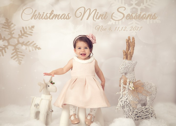 Christmas Mini Sessions are here again | Toronto Baby Photographer