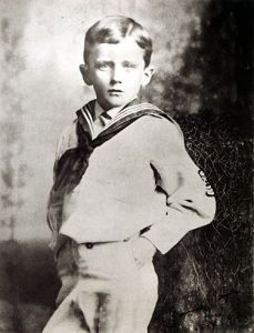Photo of James Joyce, age 6