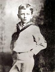Photo of James Joyce, age 6