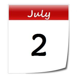 July 2 calendar page