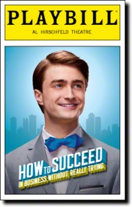 Playbill for How to Succeed in Business without Even Trying