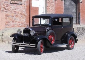 1931 Model A Ford Deluxe Tudor Sedan
