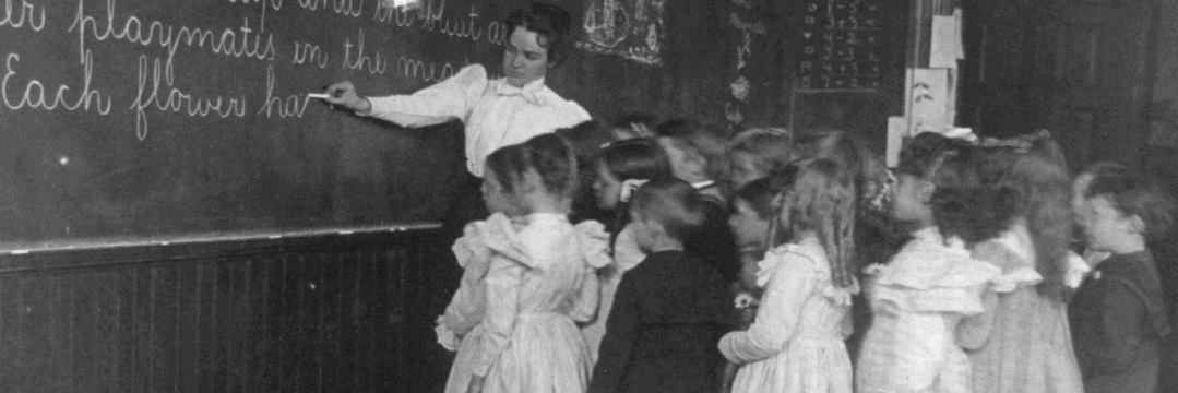Why we couldn't have erased a chalkboard in 1904