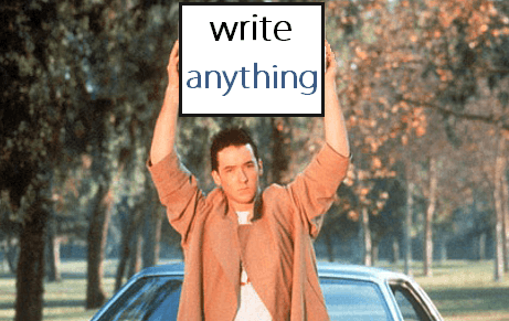 Cross-Writing to Improve Writing Skills
