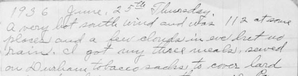 June 25, 1936