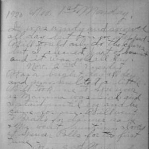 Nov. 1-2, 1920