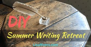DIY Summer Writing Retreat graphic