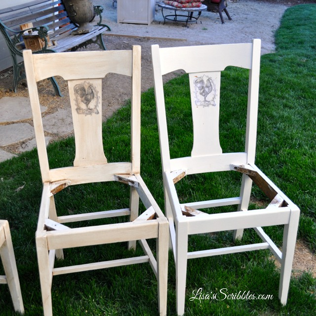 French Country chair makeover3 watermark