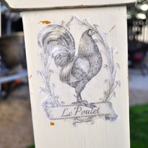 French Country chair makeover9