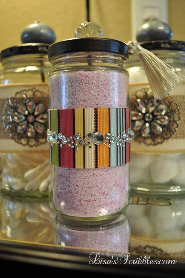 Glass Jar Upcycing025