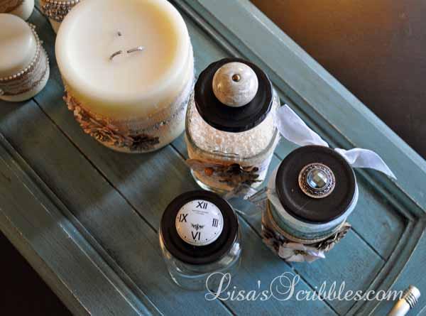 Glass Jar Upcycing033