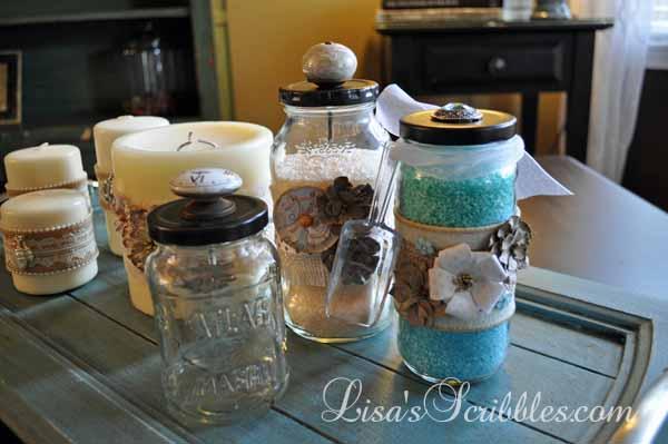 Glass Jar Upcycing035