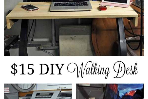 $15 DIY Walking Desk
