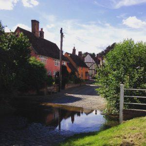 Idyllic Suffolk County, England