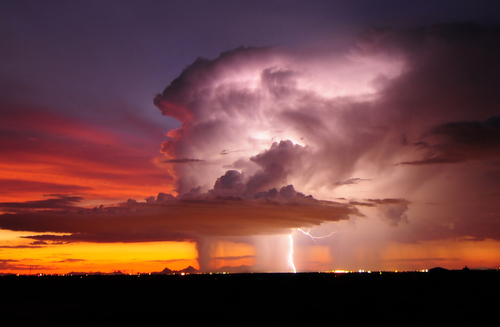 Lightning Storm, Tucson, Arizona