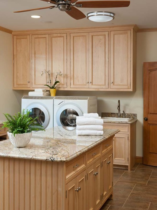 Laundry Mud Room For A Busy Family (Baltimore)