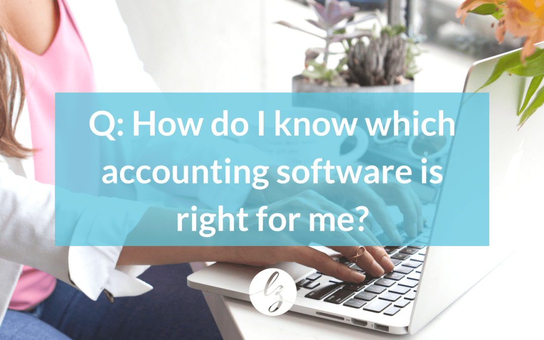 "Ask these three questions to figure out which accounting software is ""The One"""