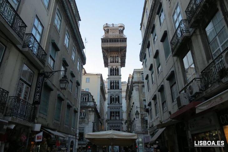 Elevador de Santa Justa en Lisboa: cómo llegar, horario y precio