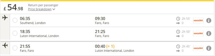 london-faro-low-cost