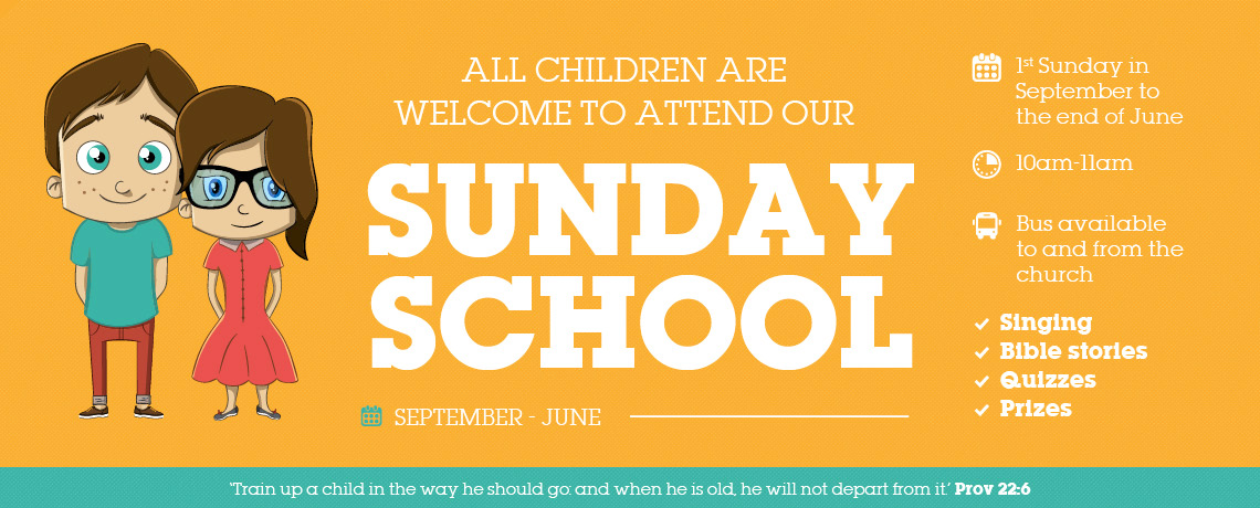 More About Our Childrens Sunday School