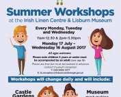 Free Flaxie Summer Workshop Lisburn Kids 2017