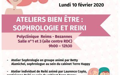 Ateliers bien-être : Sophrologie et Reikei